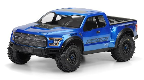 2017 Ford F-150 Raptor True Scale Clear Body for SC-1