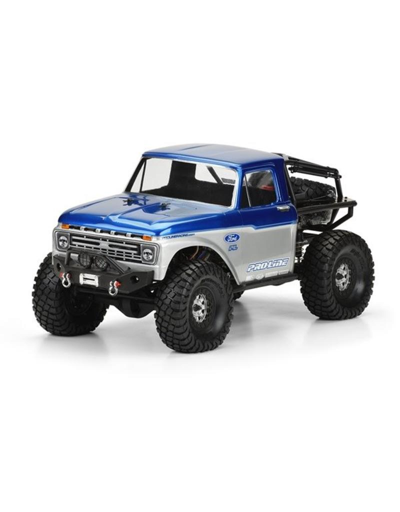Proline 1966 Ford F-100 for SCX10 Trail Honcho 12.3 (313mm) wheelbas, PR3464-00