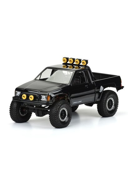 1985 Toyota HiLux SR5 Clear Body (Cab & Bed) for SCX10 Trail, PR3466-00