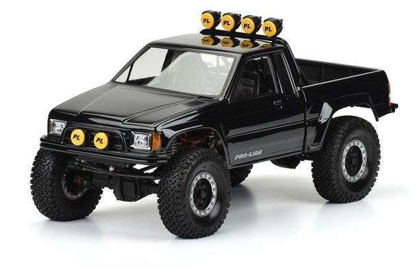 1985 Toyota HiLux SR5 Clear Body (Cab & Bed) for SCX10 Trail, PR3466-00-1
