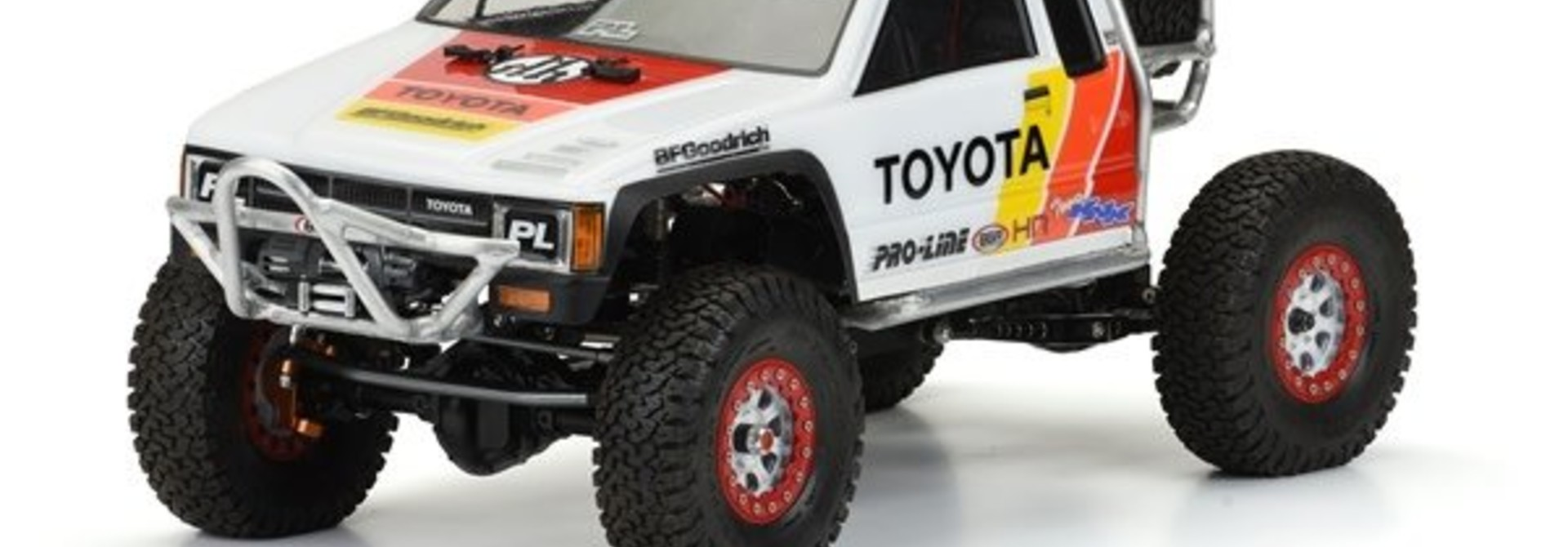 1985 Toyota HiLux SR5 Clear Body (Cab Only) for SCX10 Trail