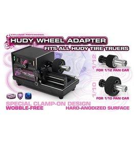 Hudy Wheel Adapter 1/12 & 1/10 Pan Cars, H102375