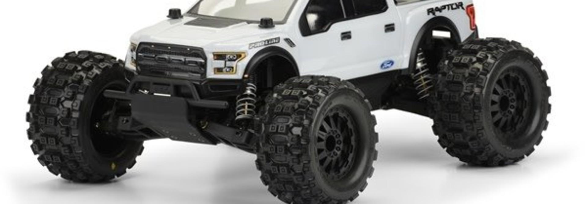 2017 Ford F-150 Raptor Clear Body for PRO-MT, PR3471-00