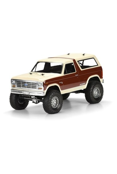 1981 Ford Bronco Clear Body for 12.3 (313mm) Wheelbase Scale
