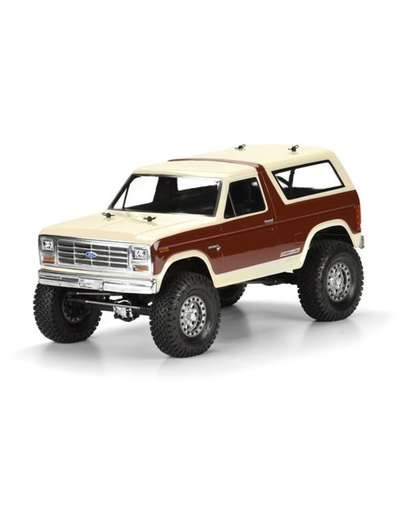 Proline 1981 Ford Bronco Clear Body for 12.3 (313mm) Wheelbase Scale