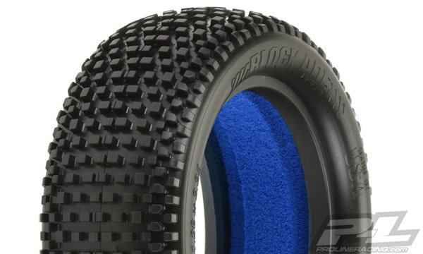 Blockade 2.2 4WD M3 (Soft) Off-Road Buggy Front Tires (2) (w-1
