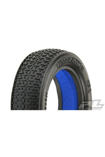 Transistor 2.2 2WD MC (Clay)  Off-Road Buggy Front Tires (2