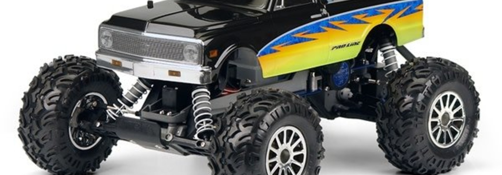 1972 Chevy C-10 Clear Body for Stampede