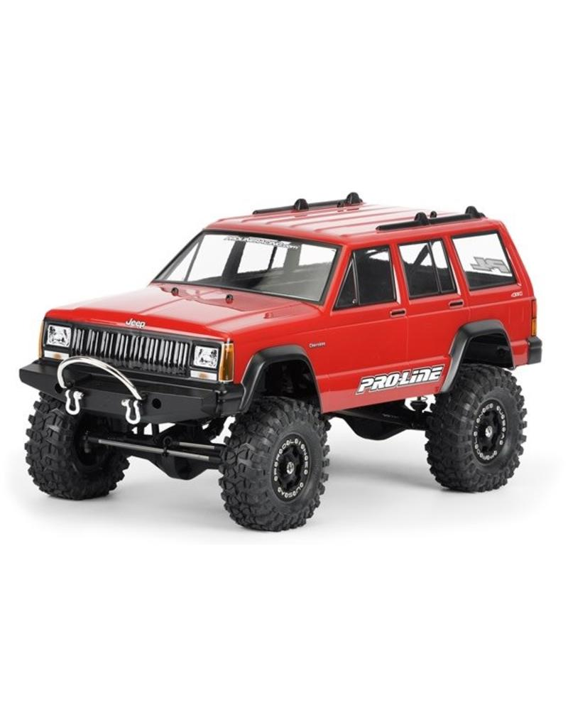 Proline 1992 Jeep Cherokee Clear body for 1:10 Scale Crawlers, PR3321-00