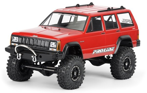 1992 Jeep Cherokee Clear body for 1:10 Scale Crawlers, PR3321-00-1