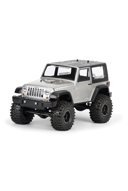 2009 Jeep Wrangler Clear body for 1:10 Scale Crawlers, PR3322-00