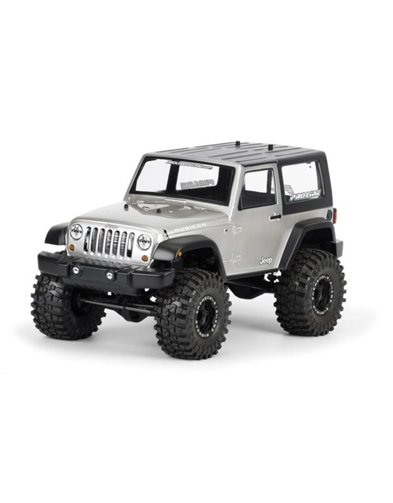 Proline 2009 Jeep Wrangler Clear body for 1:10 Scale Crawlers, PR3322-00
