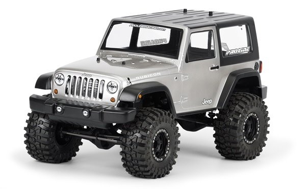 2009 Jeep Wrangler Clear body for 1:10 Scale Crawlers, PR3322-00-1