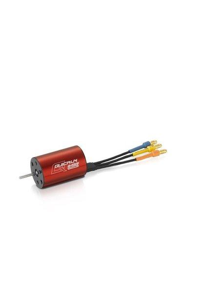 Hobbywing QuicRun 2435SL, 4500kv, Red G2 Shaft D2.3