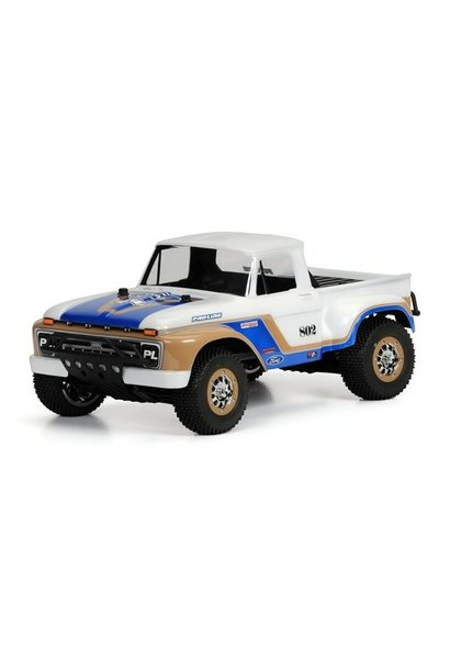 1966 Ford F-100 Clear Body for PRO-2 SC, Slash, Slash 4X4, a, PR3408-00