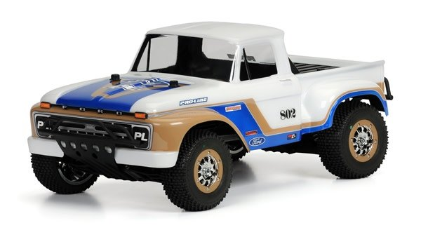 1966 Ford F-100 Clear Body for PRO-2 SC, Slash, Slash 4X4, a, PR3408-00-1