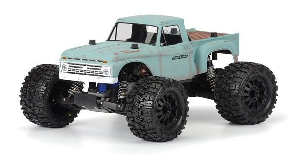 1966 Ford F-100 Clear Body for Stampede-1