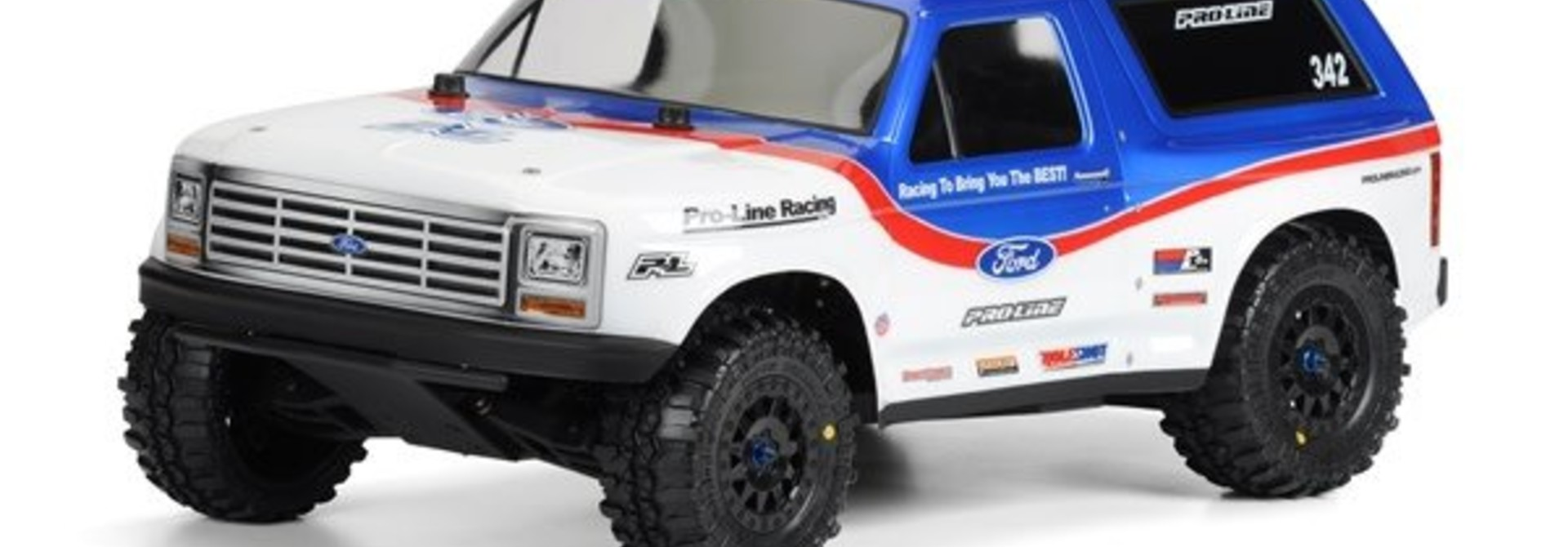 1981 Ford Bronco Clear Body for SC