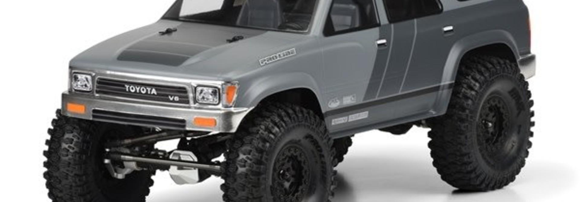 """""""1991 Toyota 4Runner Clear Body for 12.3"""""""" (313mm) Wheelbase, PR3481-00"""