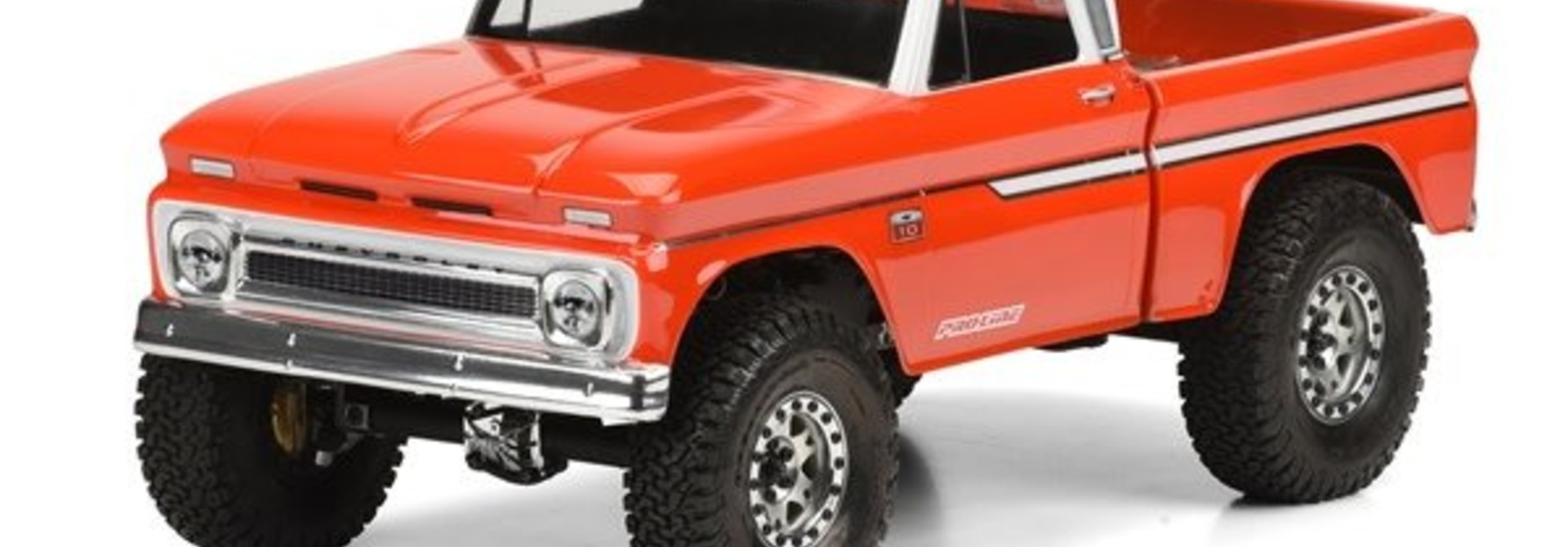 1966 Chevrolet C-10 (Cab/Bed) SCX10 Trail Honcho