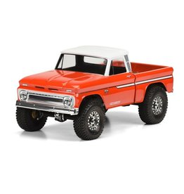 Proline 1966 Chevrolet C-10? Clear Body (Cab & Bed) for SCX10 Trail