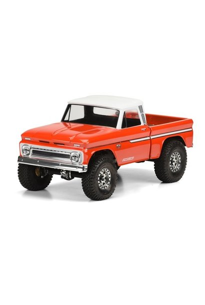 1966 Chevrolet C-10? Clear Body (Cab & Bed) for SCX10 Trail, PR3483-00