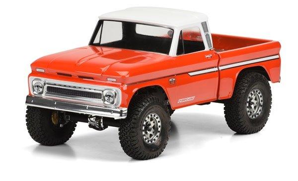 1966 Chevrolet C-10 (Cab/Bed) SCX10 Trail Honcho-1