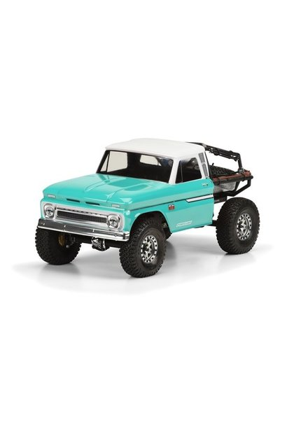 1966 Chevrolet C-10? Clear Body (Cab Only) for SCX10 Trail H