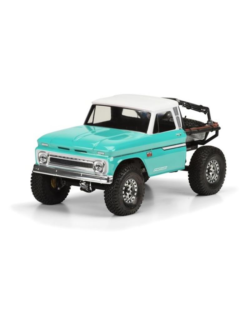 Proline 1966 Chevrolet C-10? Clear Body (Cab Only) for SCX10 Trail H