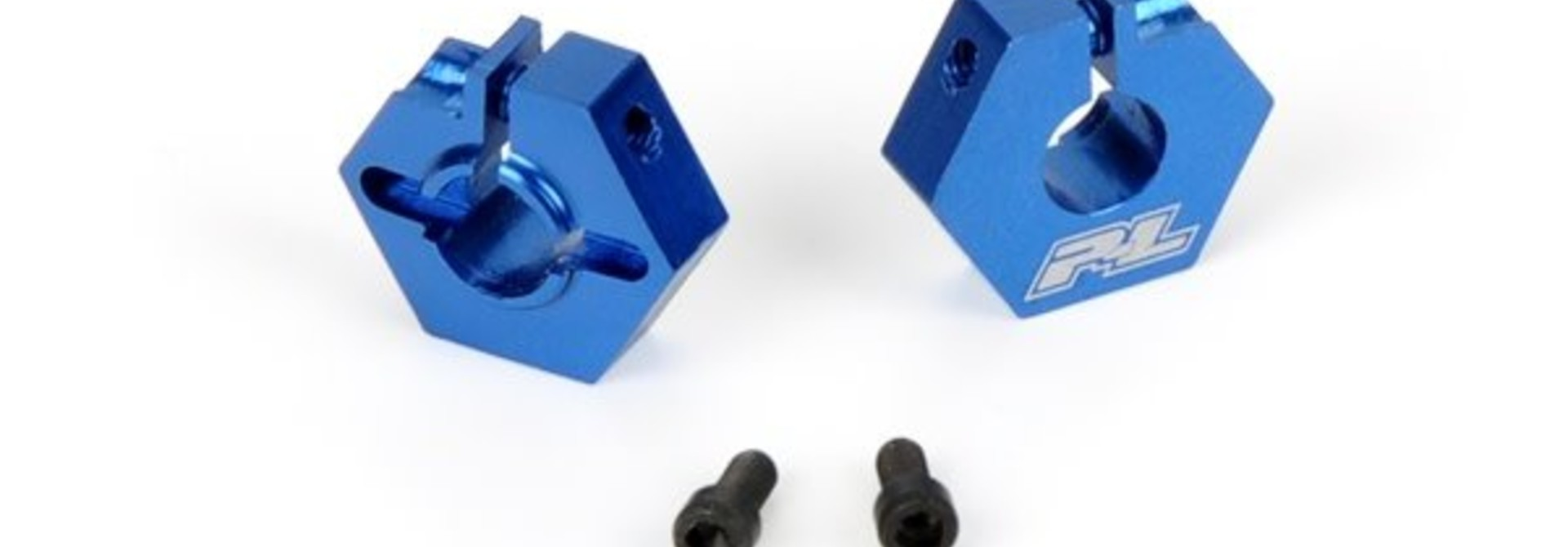 Aluminum 12mm Front Hex Adapters for B4.1, PR6076-00