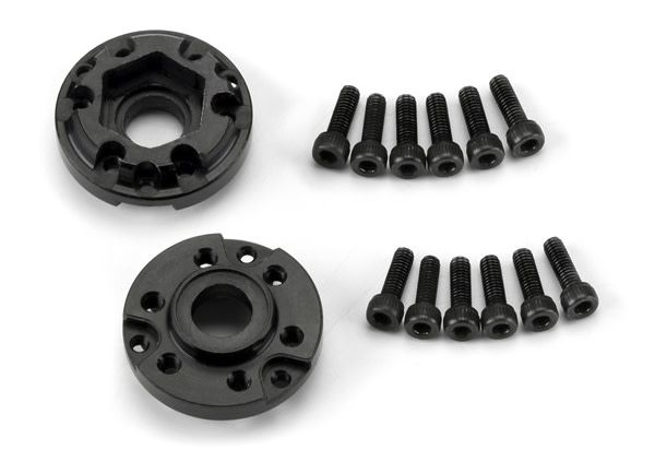 6 Lug 12mm Standard Offset Hex Adapters (2) for Pro-Line 6 L, PR6292-00-1
