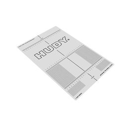 Hudy Plastic Set-Up Board Decal For 1:10
