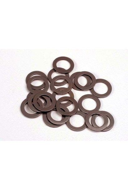 Teflon washers, 5x8x0.5mm (20) (use with ball bearings), TRX1985