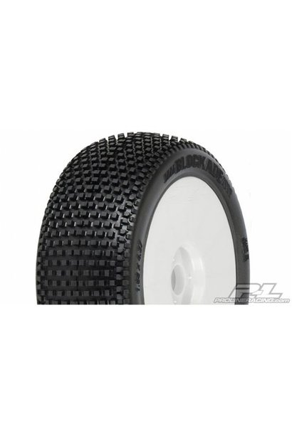 Blockade M3 (Soft) Off-Road 1:8 Buggy Tires Mounted on V2 W