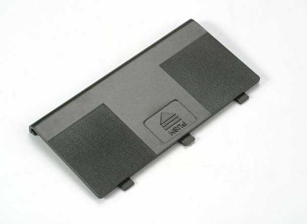 Battery door (For use with Traxxas dual-stick transmitters), TRX2022-1