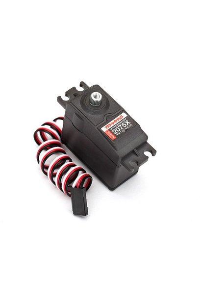 Servo, digital high-torque, metal gear (ball bearing), water, TRX2075X