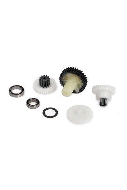 Gear set (for 2085 servo), TRX2087