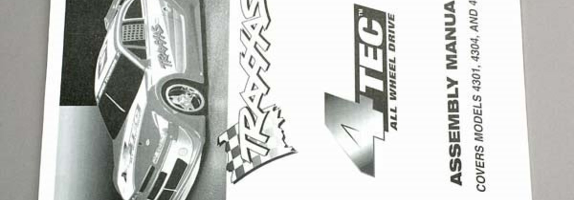Assembly manual, 4-Tec, TRX4399