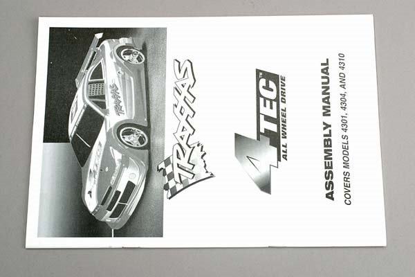 Assembly manual, 4-Tec, TRX4399-1
