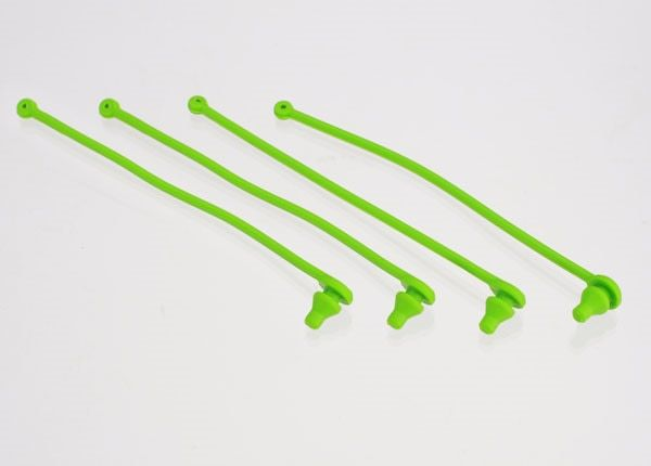 Body clip retainer, green (4), TRX5753-1