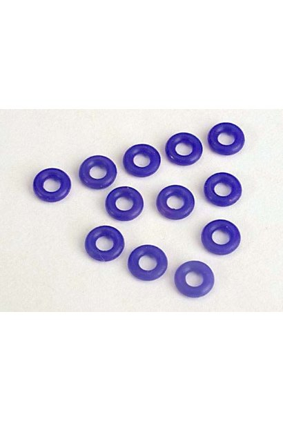 Blue silicone O-rings (12), TRX2361