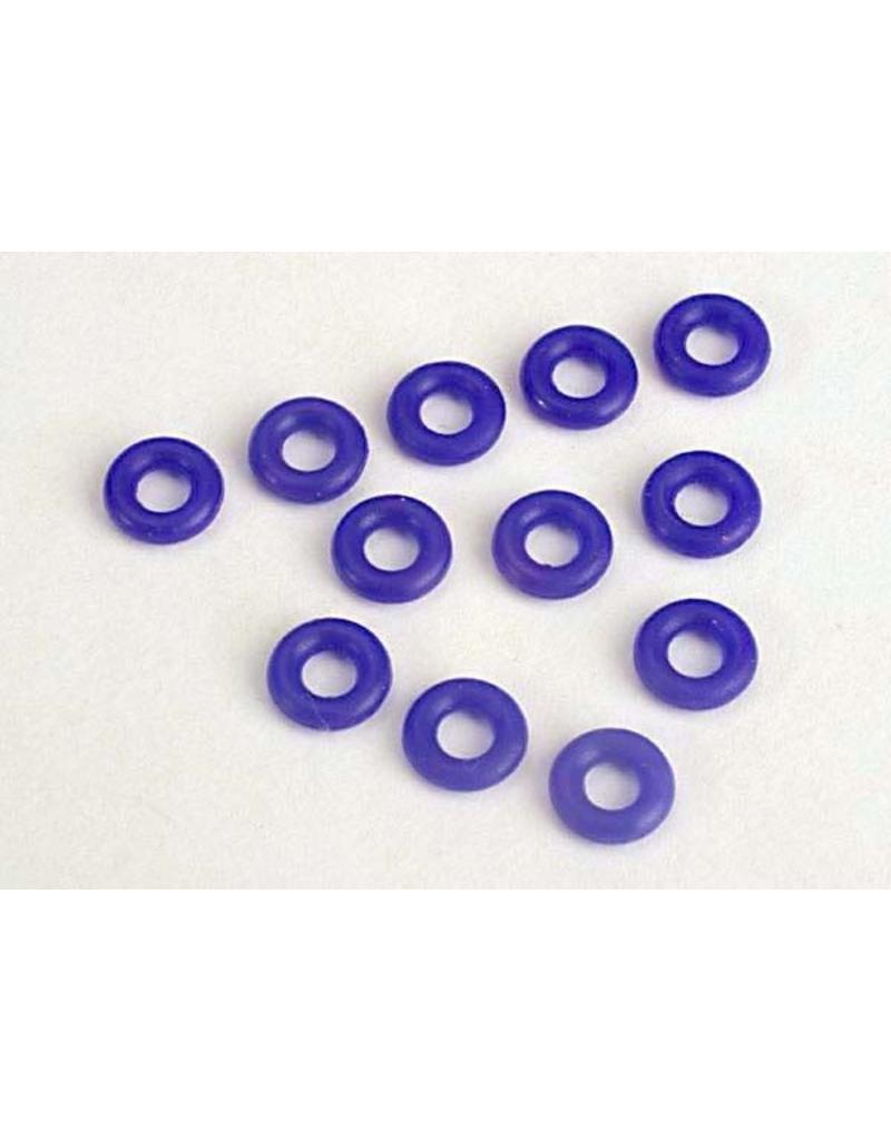 Traxxas Blue silicone O-rings (12), TRX2361