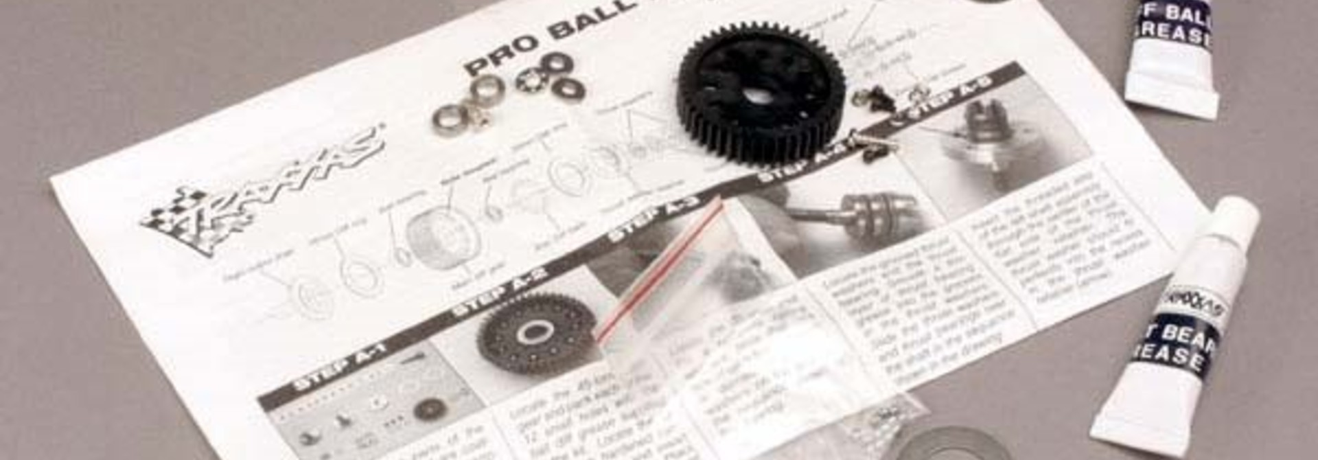 Ball differential, Pro-style (with bearings), TRX4420