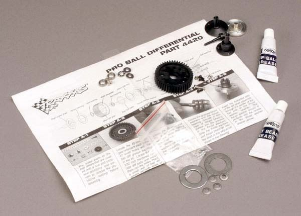 Ball differential, Pro-style (with bearings), TRX4420-1