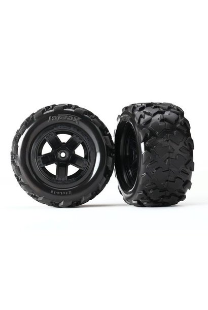 Tires & wheels, assembled, glu, TRX7672