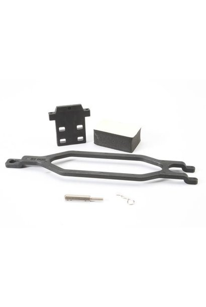 Hold down, battery/ hold down retainer/ battery post/ foam s, TRX5827X