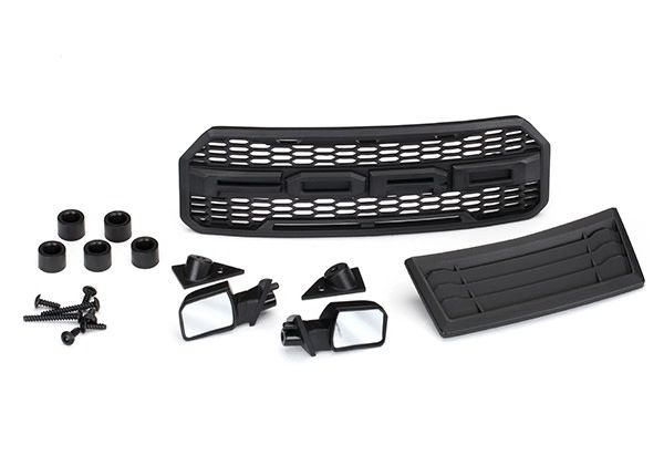 Body accessories kit, 2017 Ford Raptor (includes grill, hood, TRX5828-1