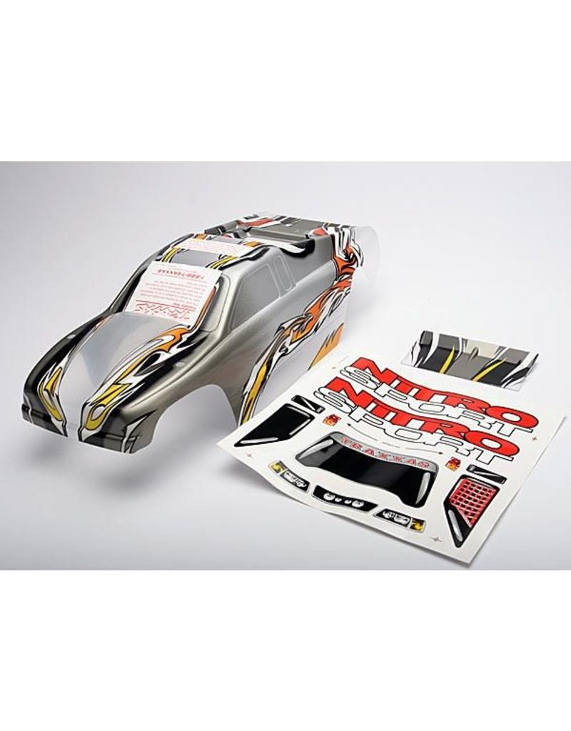 Traxxas Body, Nitro Sport, ProGraphix (replacement for the painted b, TRX4512