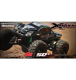 Traxxas Traxxas X-Maxx 4WD 8S brushless monstertruck Green excl. accu/lader TRX77086-4G