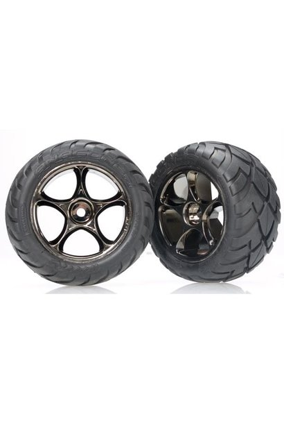 Tires & wheels, assembled (Tracer 2.2 black chrome wheels, A, TRX2478A